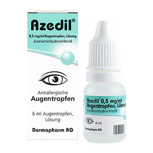 Azedil 0,5 mg / ml Augentropfen Lösung - 1