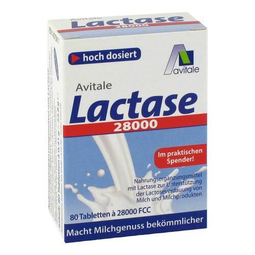 Lactase 28.000 FCC Tabletten im Spender - 2