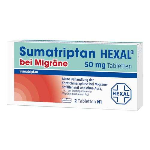 Sumatriptan Hexal bei Migräne 50 mg Tabletten - 3