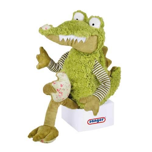 Kirschkernkissen Krokodil Christopher - 1