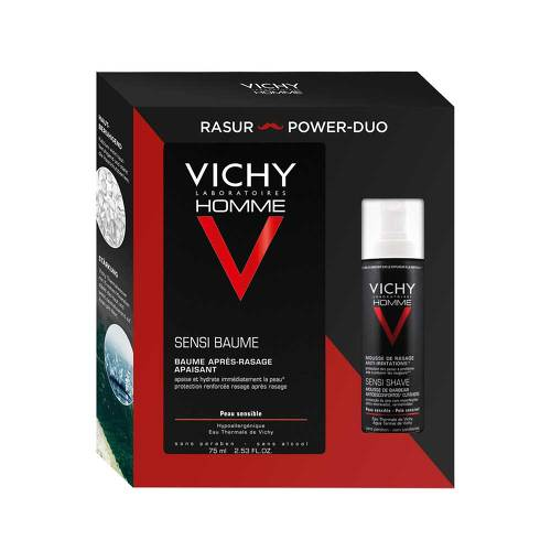 Vichy Homme Set Rasur & sensitiv-Balsam - 1