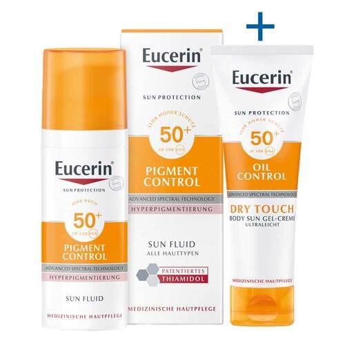 Eucerin Sun Fluid Pigment Control LSF 50 +  - 1