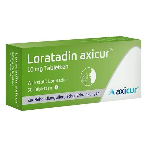 Loratadin axicur 10 mg Tabletten - 1