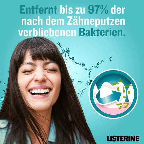 Listerine Cool Mint milder Geschmack Lösung - 3