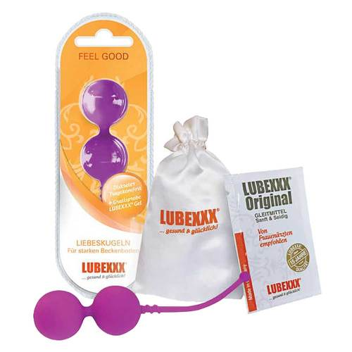 Lubexxx Liebeskugeln für Beckenbodentraining lila - 1