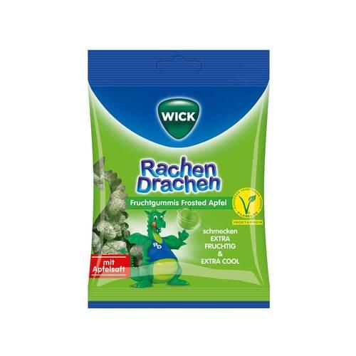 WICK RachenDrachen Halsgummis Apfel - 1