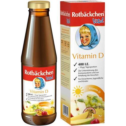 Rabenhorst Rotbäckchen Vital Vitamin D 400 I.E. - 1