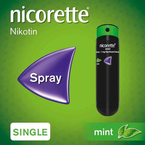 Nicorette Mint Spray 1 mg / Sprühstoß - 2