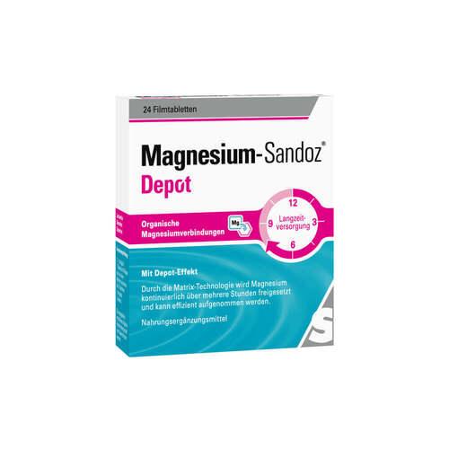 Magnesium-Sandoz Depot Filmtabletten - 1