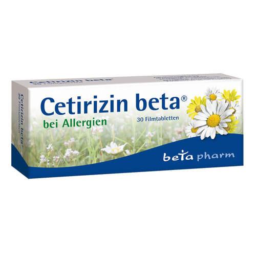 Cetirizin beta Filmtabletten - 1