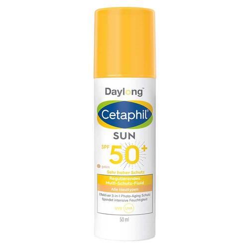 Cetaphil Sun Daylong SPF 50 + regenerierendes Multi-Schutz-Fluid Gesicht getönt - 1