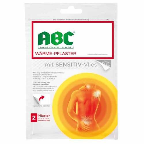 Abc Wärme-Pflaster sensitive Hansaplast med 10x14 - 1