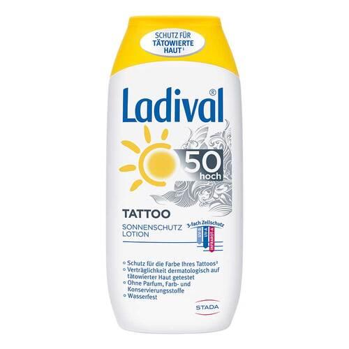 Ladival Tattoo Sonnenschutz Lotion LSF 50 - 1