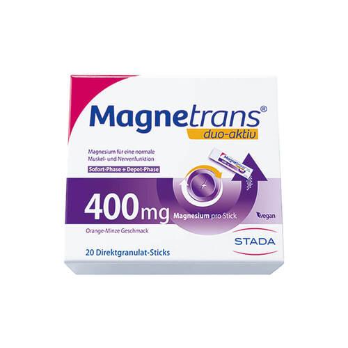 Magnetrans duo-aktiv 400 mg Sticks - 1