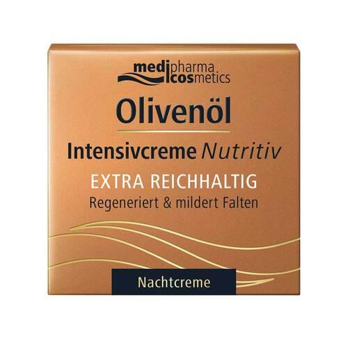 Olivenöl Intensivcreme Nutritiv Nachtcreme - 1