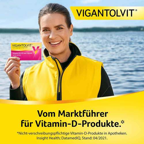 Vigantolvit Vitamin D3 K2 Calcium Filmtabletten - 2