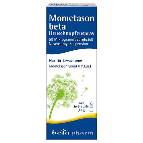 Mometason beta Heuschnupfenspray 50µg / Sp.140 Sp.St - 1