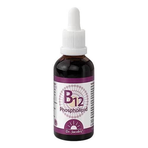 B12 Phospholipid Dr. Jacob`s Flüssigkeit - 1