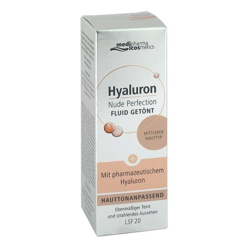 Hyaluron Nude Perfection getönt.Fluid LSF 20 medi. - 1