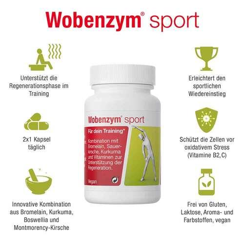 Wobenzym sport magensaftresistente Kapseln - 2