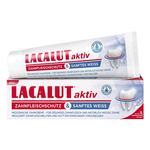 Lacalut aktiv Zahnfleischschutz & sanftes Weiß - 1