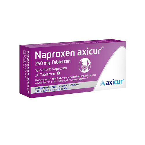 Naproxen axicur 250 mg Tabletten - 1