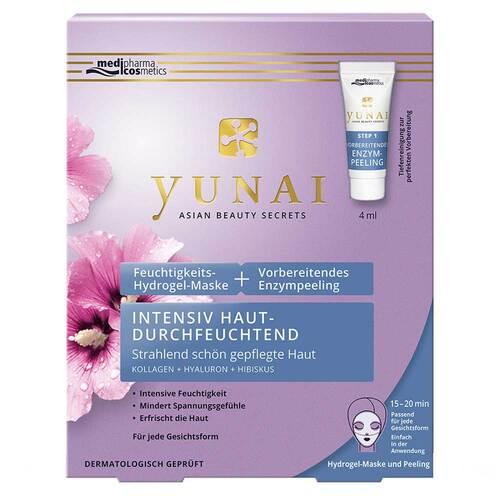 Yunai Feuchtigkeits-Maske 25g + vorbereitendes Enzympeeling 4ml - 1