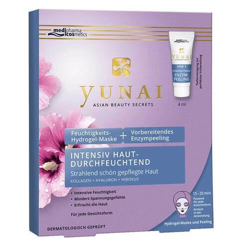 Yunai Feuchtigkeits-Maske 25g + vorbereitendes Enzympeeling 4ml - 2