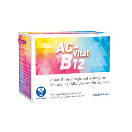 AC-Vital B12 Direktsticks mit Eiweißbausteinen - 1