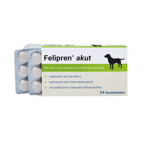 Felipren akut Kautabletten bei Durchfall für Hunde - 1