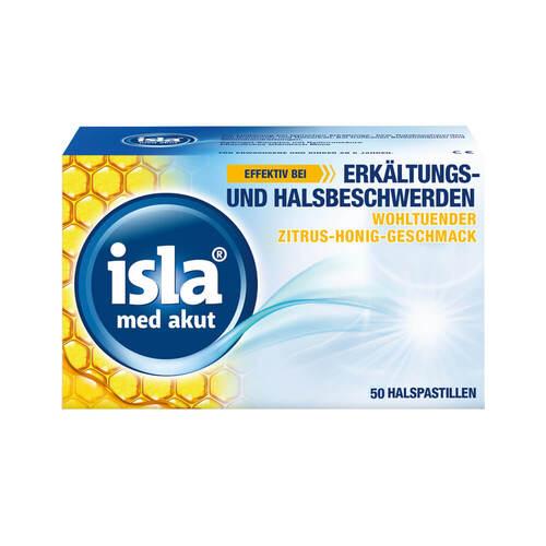 Isla Med akut Zitrus-Honig Pastillen - 1