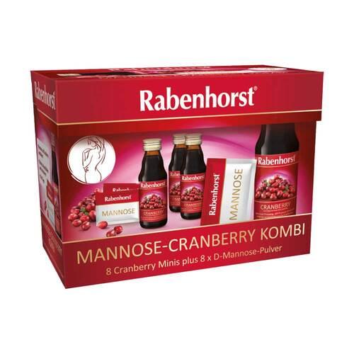 Rabenhorst Mannose-Cranberry Kombi 8 Minis + Mannose - 1