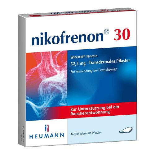 Nikofrenon 30 Heumann transdermale Pflaster - 1