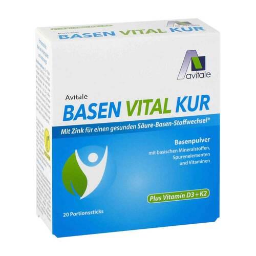 Basen Vital Kur + Vitamin D3 + K2 Pulver - 1