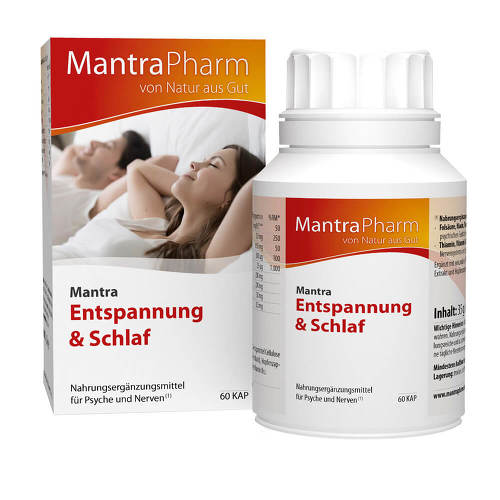 Mantra Entspannung & Schlaf Kapseln - 1