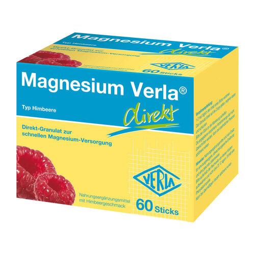 Magnesium Verla direkt Granulat Himbeere - 1