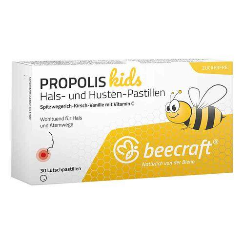 Beecraft Propolis Hals- und Husten-Pastillen kids - 1