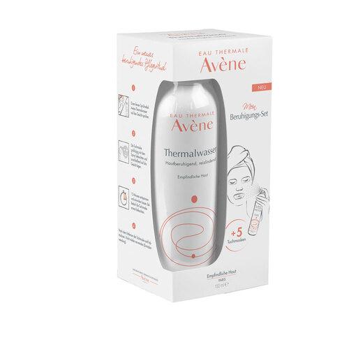 Avene Thermalwasser Spray + 5 Tuchmasken Set - 1