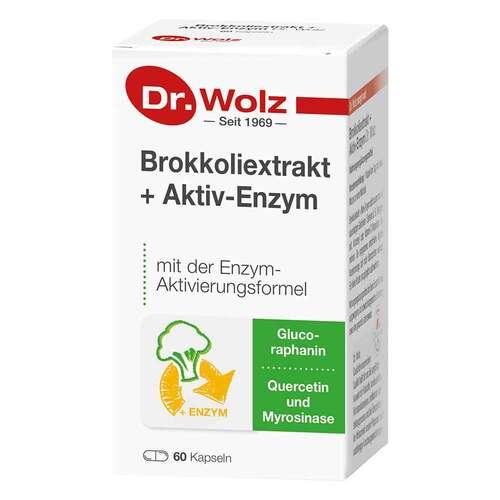 Brokkoliextrakt + Aktiv-Enzym Dr. Wolz magensaftresistent Kapseln  - 1