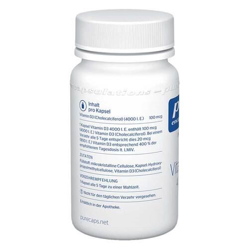 Pure Encapsulations Vitamin D3 4000 I.E. Kapseln - 3