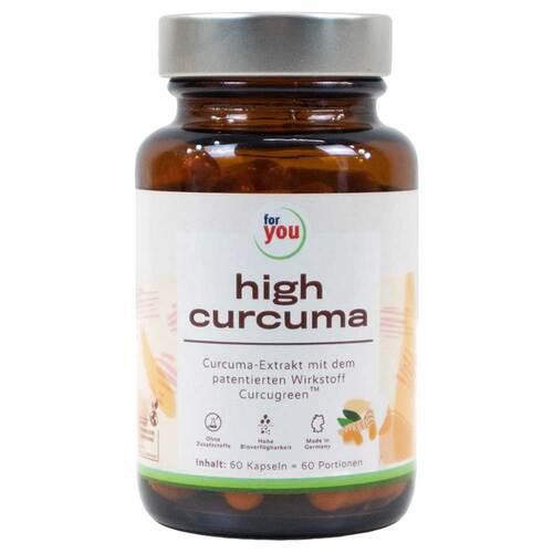 For You high curcuma Kapseln - 1