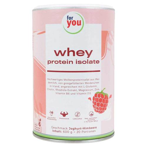 For You whey protein isolate recovery Jogh.-Himb. - 1