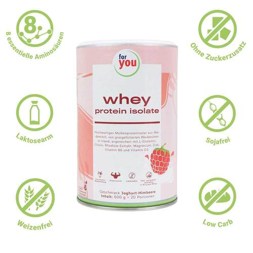 For You whey protein isolate recovery Jogh.-Himb. - 2