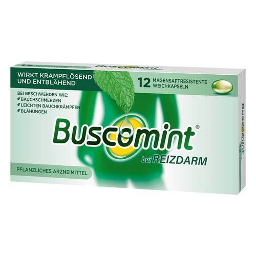 Buscomint bei Reizdarm 0,2 ml magensaftresistent Weichkapseln  - 1