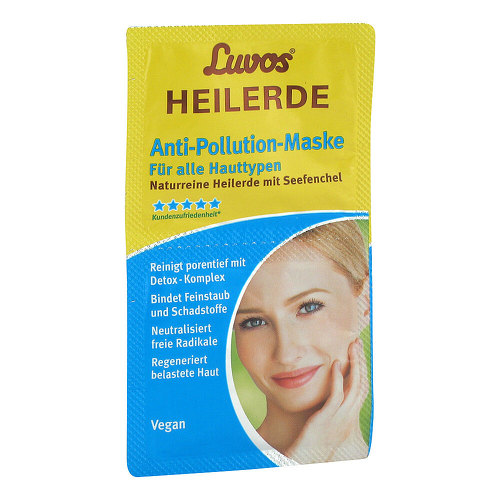 Luvos Heilerde Anti-Pollution-Maske - 1