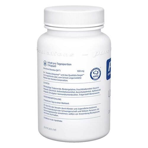 Pure Encapsulations Ubiquinol QH 100 mg Kapseln - 3