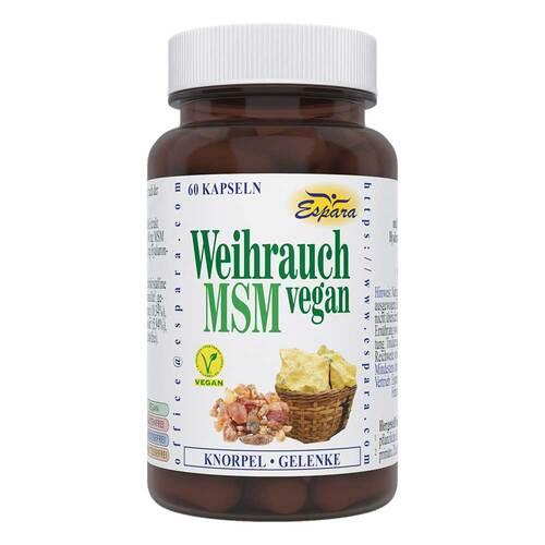Weihrauch MSM vegan Kapseln - 1