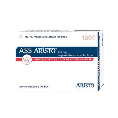 ASS Aristo 100 mg magensaftresistente Tabletten - 1