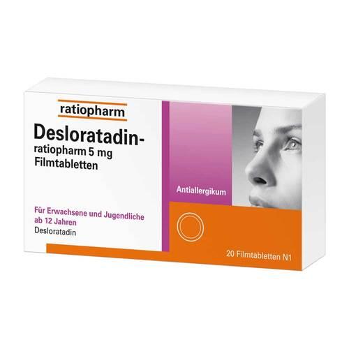 Desloratadin-ratiopharm 5 mg Filmtabletten - 1