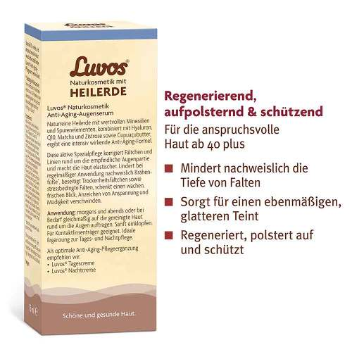 Luvos Heilerde Anti-Age Augenserum - 3